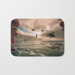 Flying With Friends - Super Smash Brothers Bath Mat