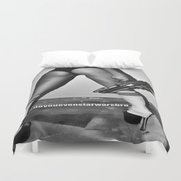 B is for Blaster (Not Booty) Duvet Cover
