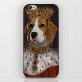 The Most Regal of the Beagles iPhone Skin