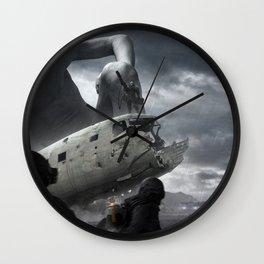 Railgun Wars Wall Clock