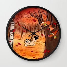 automne Wall Clock