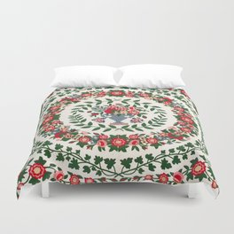 Floral Fabric Vintage Gift Pattern #9 Duvet Cover