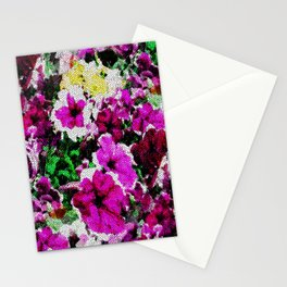 Petunia's behind the screen... Stationery Cards
