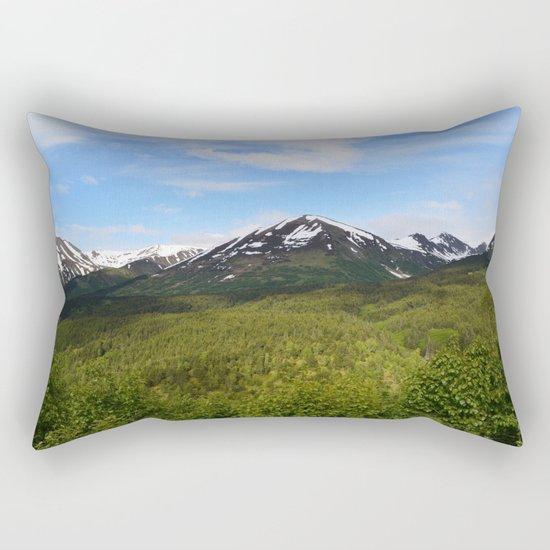 Summer Greens II Rectangular Pillow