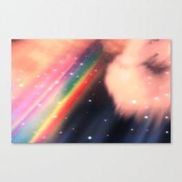 Under The Rainbow Sky 2 Canvas Print