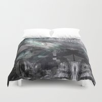 scream Duvet Covers featuring Scream by Lil'h