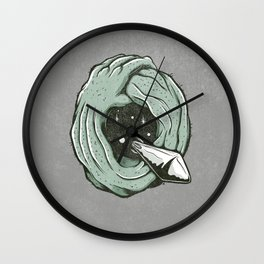 Q is for Quatermass Xperiment Wall Clock