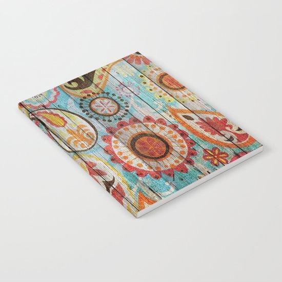 Kashmir on Wood 02 Notebook