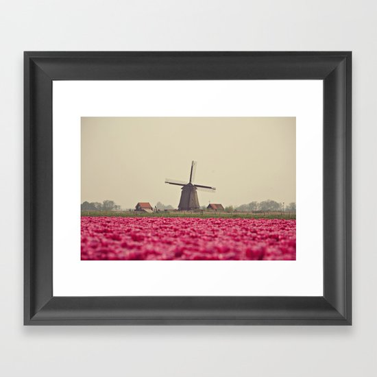 Postcard from Netherland Framed Art Print