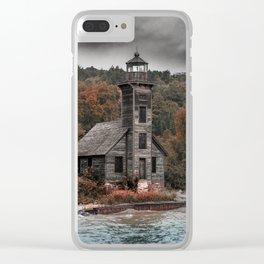 My Black Shroud Clear iPhone Case