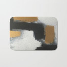 modern gold life Bath Mat