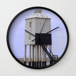 Low Lighthouse landward Wall Clock