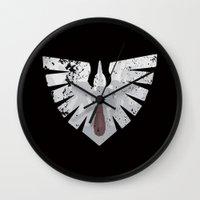 warhammer Wall Clocks featuring Ravens on the horizon by HenkusFilijokus