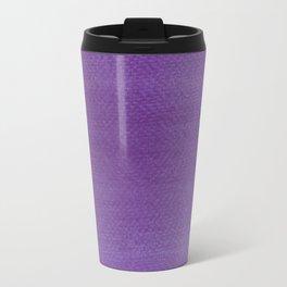Hand painted DW-M Ultraviolet  color Travel Mug