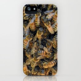 Beautiful Bees iPhone Case