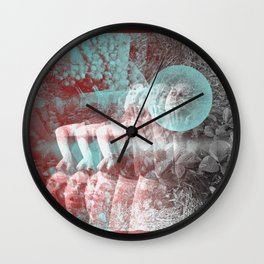 strawberry lemonade Wall Clock