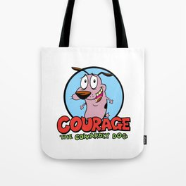 Courage the Cowardly Dog Tote Bag