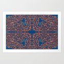 Belief - Symmetrical Abstract Expressionism by rmlstudios