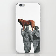 plato n aristotle walking their doge iPhone & iPod Skin