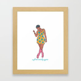 Marita Framed Art Print