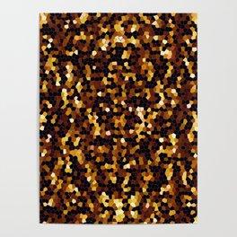 Mosaic Texture G37 Poster