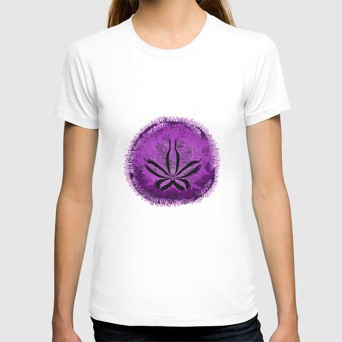 Live Purple Sand Dollar T-shirt