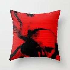 Parasite Oddity (Red Mix) Throw Pillow