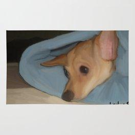 Sleepy Chihuahua Rug
