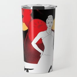 The Cat and the Claw Vintage Poster (BTAS) Travel Mug
