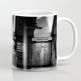 Alight here for Sherlock Holmes - Baker Street Tube Coffee Mug