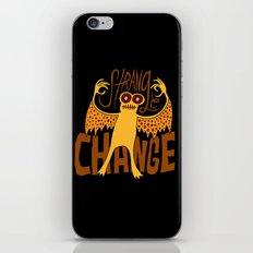 Strange Change iPhone & iPod Skin