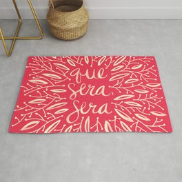 Whatever Will Be, Will Be – Melon Palette Rug