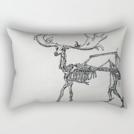 Elk skeleton Rectangular Pillow