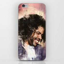 Portrait of Daveed Diggs iPhone Skin