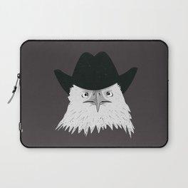 Eagle Cowboy Hipster Laptop Sleeve