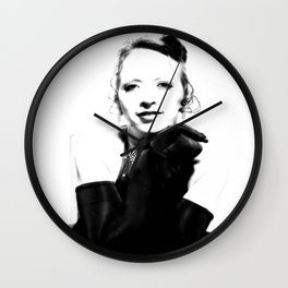 Pin Up Style Wall Clock
