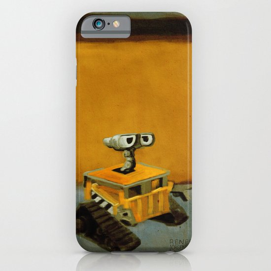 Wall-E and Rothko iPhone & iPod Case