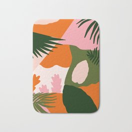 Tropical Island Bath Mat