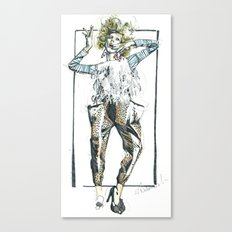 Baggy Trousers Canvas Print