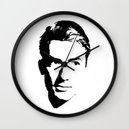 Gregory Peck Is Class Wall Clock