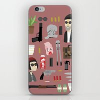 leon iPhone & iPod Skins featuring Leon  by Max the Kid