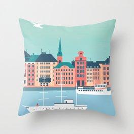 Stockholm Throw Pillow