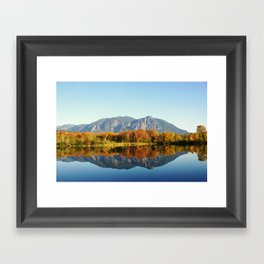 Mt Si Framed Art Print