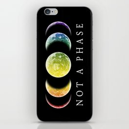 Not A Phase Gay Pride LGBT iPhone Skin