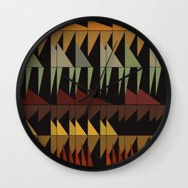Dibon - Earth Tones Wall Clock