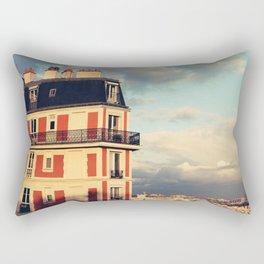 Shadow Of Sacre Coeur Rectangular Pillow