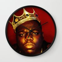 biggie Wall Clocks featuring Biggie by I Love Decor