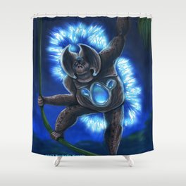 Nocturnatan Shower Curtain