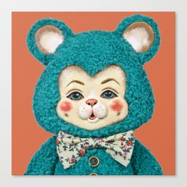 Bitsy the Bear Canvas Print