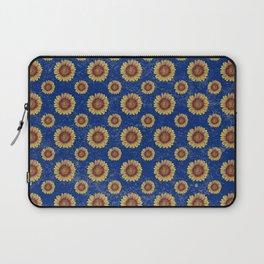 Swirly Sunflower Laptop Sleeve
